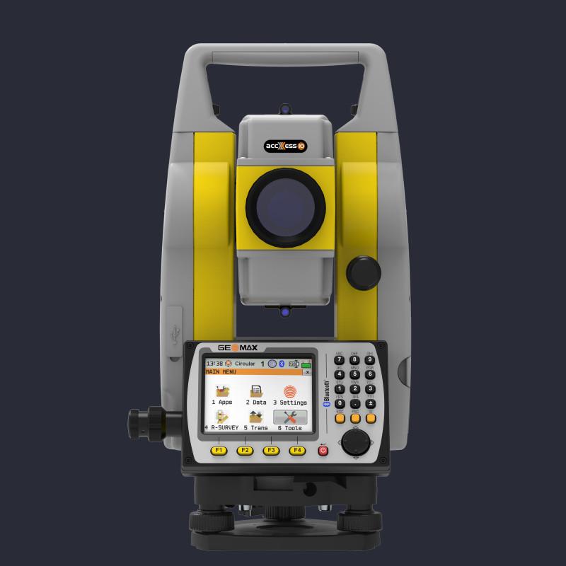 Attēls ar Geomax Zoom50 manuālo tahimetru