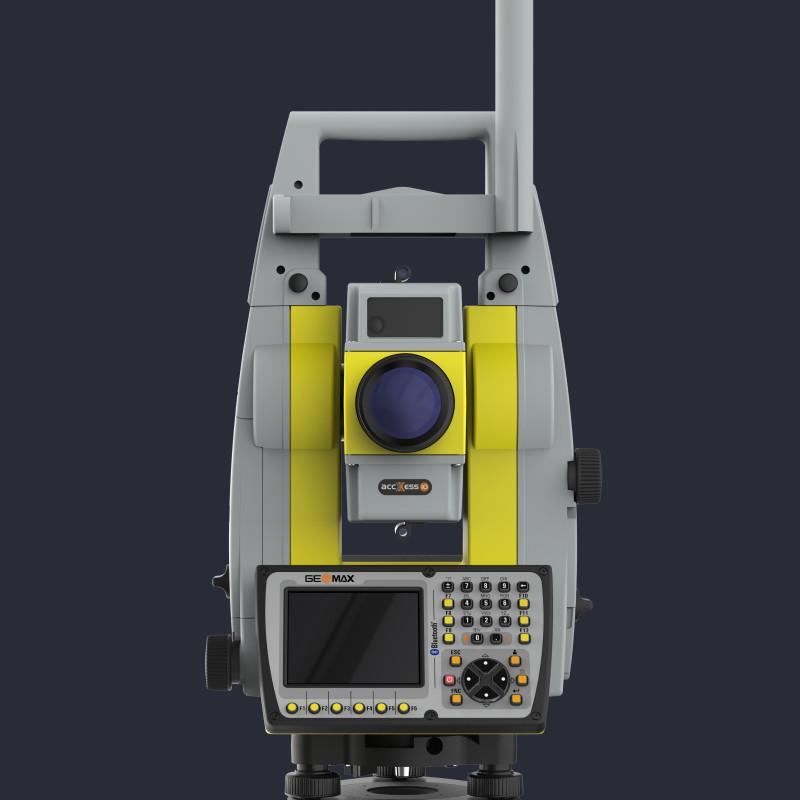 Attēls ar Geomax Zoom70 robotizēto tahimetru