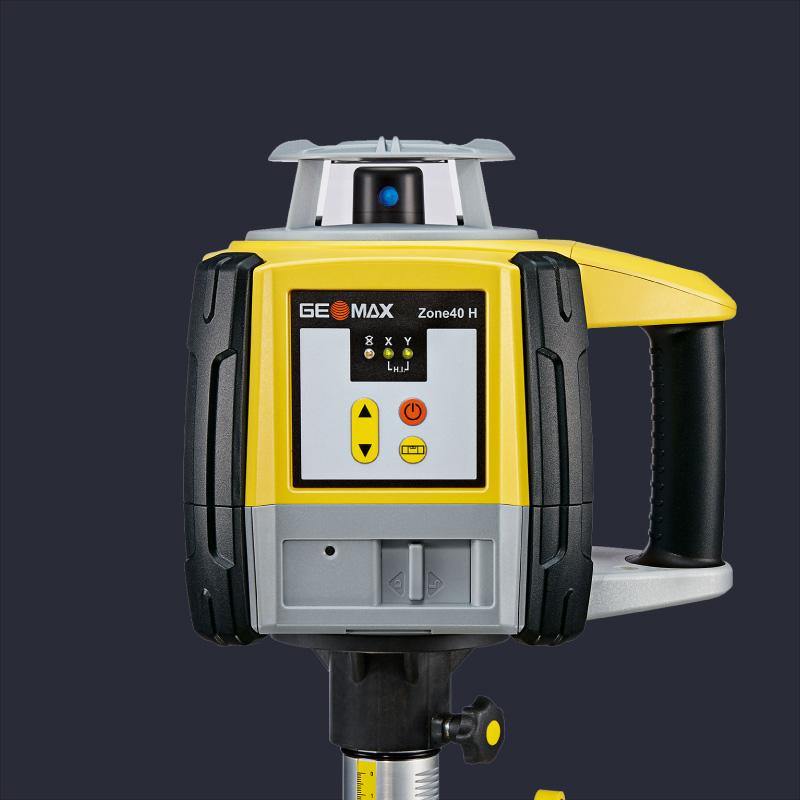 Attēls ar Geomax Zoom90 robotizēto tahimetru